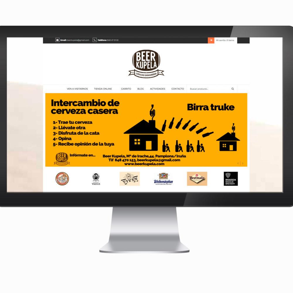 Tienda Online Beer Kupela