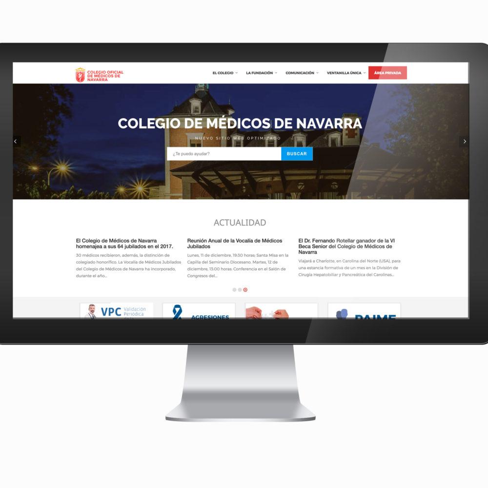 Web Colegio de Médicos