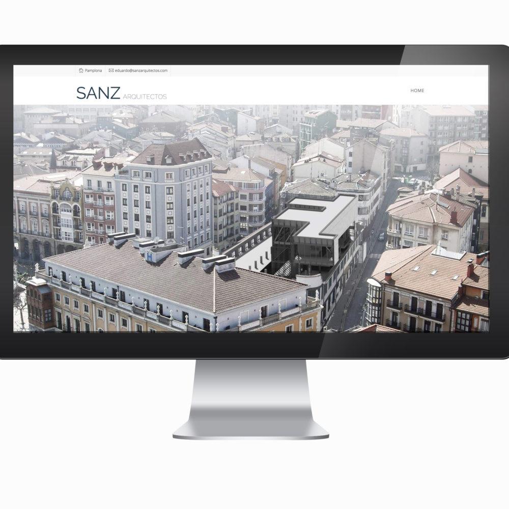 Web Sanz Arquitectos