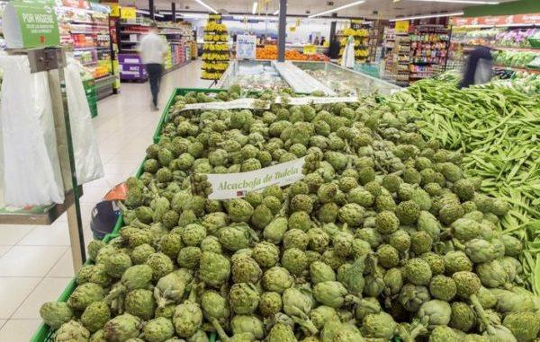 Mercadona compra un millón de kilos de alcachofa de Tudela