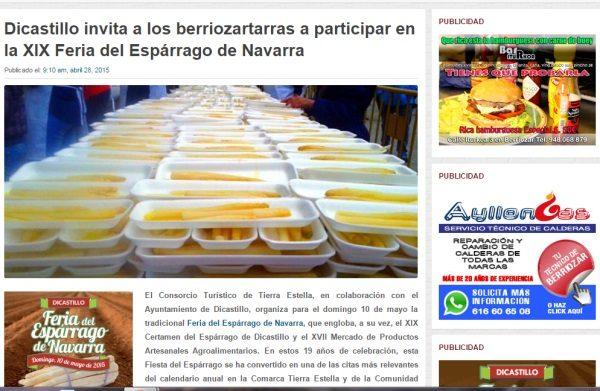 Comunikaze trabaja en la cobertura de eventos en Navarra