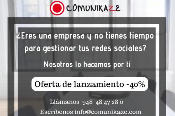 Comunikaze, tu community manager en Pamplona