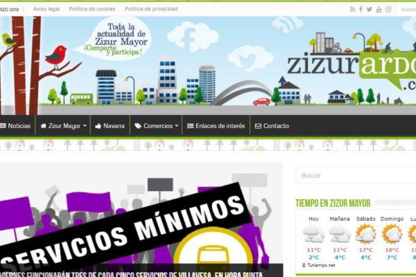 El digital de Zizur Mayor, zizurardoi.com, se une al grupo editorial y de comunicación Comunikaze