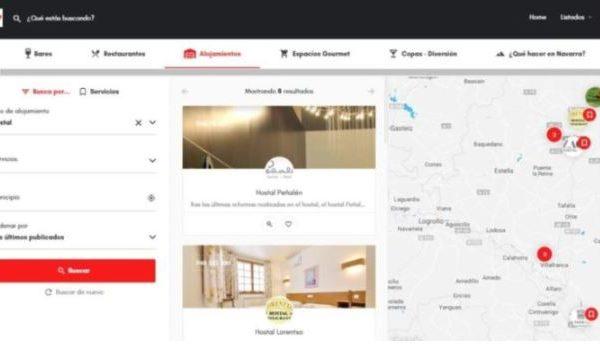 Comunikaze desarrolla la plataforma Comermuybien.com, un práctico buscador del sector gastronómico, turístico y hotelero en Navarra