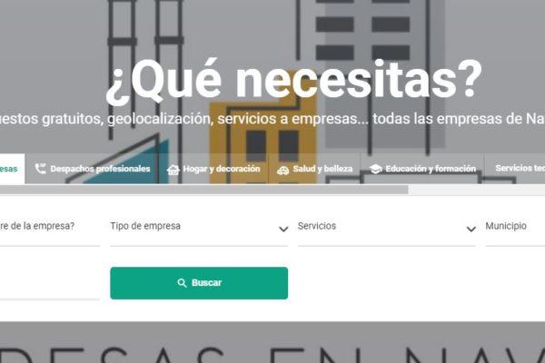 Comunikaze lanza empresasennavarra.com, un buscador de empresas